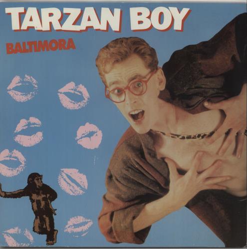 """Baltimora Tarzan Boy 12"""" vinyl single (12 inch record / Maxi-single) UK BTI12TA144219"""
