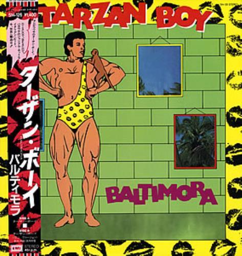 """Baltimora Tarzan Boy 12"""" vinyl single (12 inch record / Maxi-single) Japanese BTI12TA352681"""