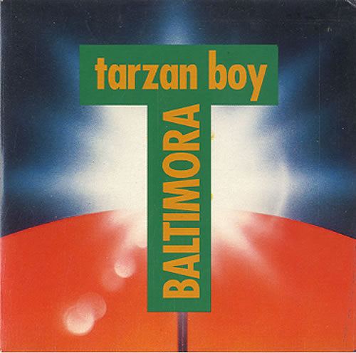 "Baltimora Tarzan Boy CD single (CD5 / 5"") Dutch BTIC5TA626720"