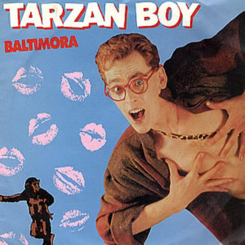 """Baltimora Tarzan Boy 7"""" vinyl single (7 inch record) UK BTI07TA98475"""