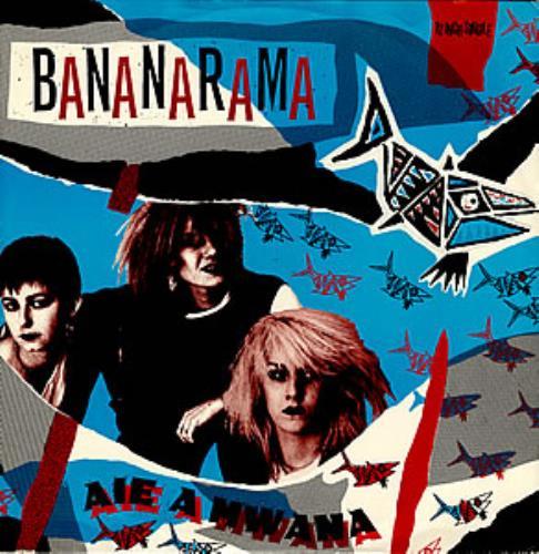 "Bananarama Aie A Mwana 12"" vinyl single (12 inch record / Maxi-single) UK BAN12AI20419"