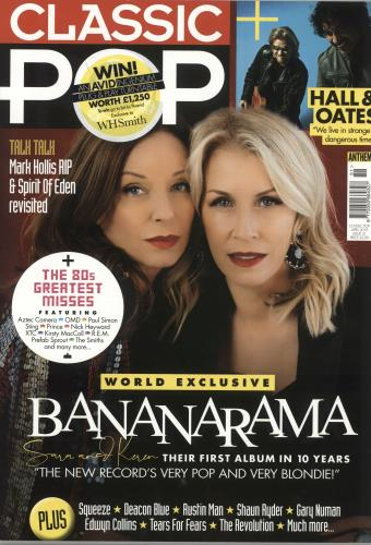 Bananarama Classic Pop - April 2019 magazine UK BANMACL736794