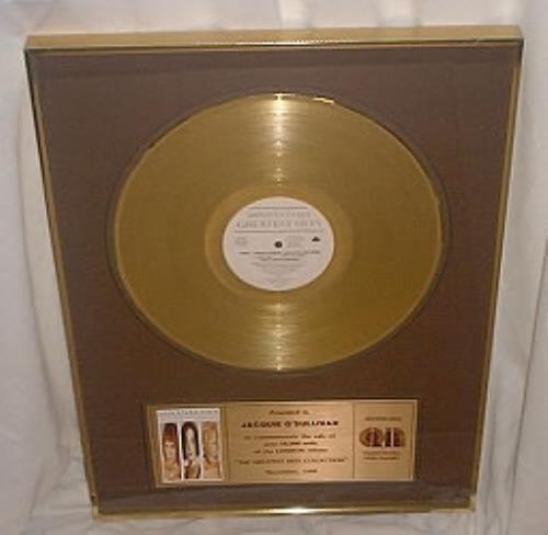 Bananarama Greatest Hits award disc Canadian BANAWGR169179