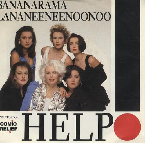 "Bananarama Help! 7"" vinyl single (7 inch record) US BAN07HE119827"