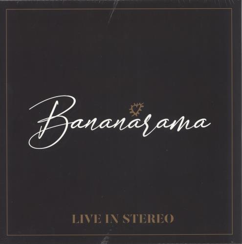 Bananarama Live In Stereo - White Vinyl - Sealed vinyl LP album (LP record) UK BANLPLI733035