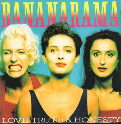 "Bananarama Love, Truth & Honesty 7"" vinyl single (7 inch record) Australian BAN07LO659186"