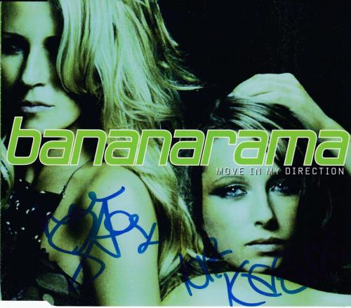 "Bananarama Move In My Direction - AUTOGRAPHED CD single (CD5 / 5"") UK BANC5MO714594"