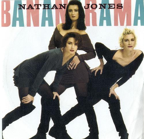 "Bananarama Nathan Jones 7"" vinyl single (7 inch record) Dutch BAN07NA602034"