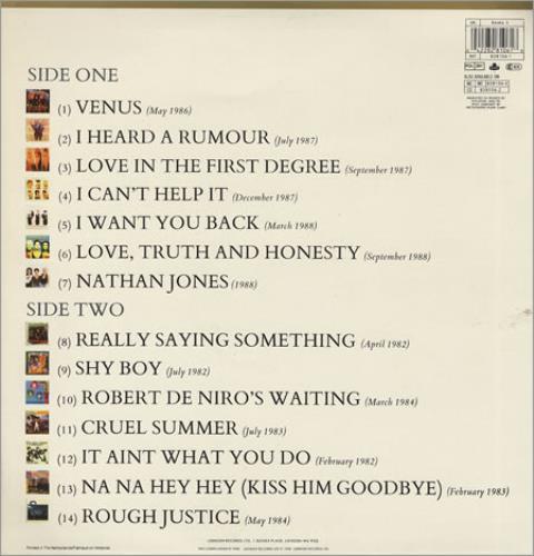 Bananarama The Greatest Hits Collection Uk Vinyl Lp Album