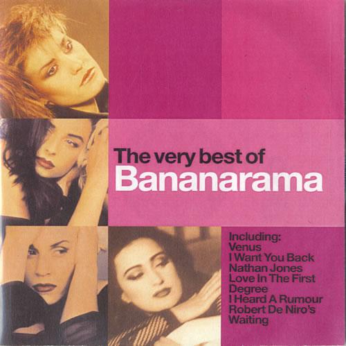Bananarama The Very Best Of CD-R acetate UK BANCRTH199236