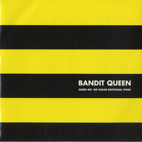 "Bandit Queen Queen Bee 7"" vinyl single (7 inch record) UK BG807QU507638"