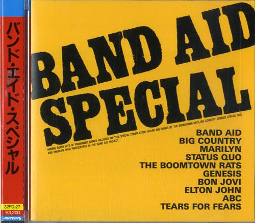 Band Aid Band Aid Special CD album (CDLP) Japanese AIDCDBA200922