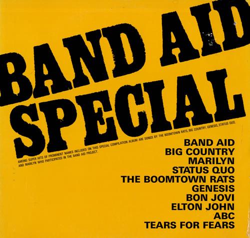Band Aid Band Aid Special vinyl LP album (LP record) Japanese AIDLPBA561217