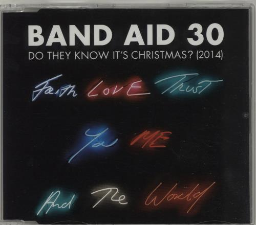 """Band Aid Do They Know It's Christmas? (2014) CD single (CD5 / 5"""") UK AIDC5DO686320"""