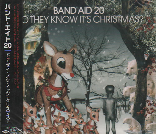 "Band Aid Do They Know It's Christmas? - Sealed CD single (CD5 / 5"") Japanese AIDC5DO637651"