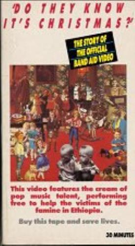 Band Aid Do They Know It's Christmas? - The Story Of... video (VHS or PAL or NTSC) UK AIDVIDO147830