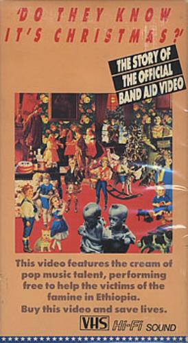 Band Aid Do They Know It's Christmas? - The Story Of... video (VHS or PAL or NTSC) Japanese AIDVIDO384385