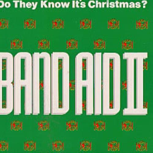 "Band Aid Do They Know It's Christmas? CD single (CD5 / 5"") Dutch AIDC5DO178296"