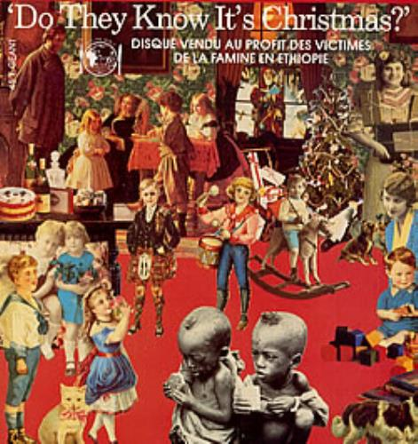 "Band Aid Do They Know It's Christmas? 12"" vinyl single (12 inch record / Maxi-single) French AID12DO233189"