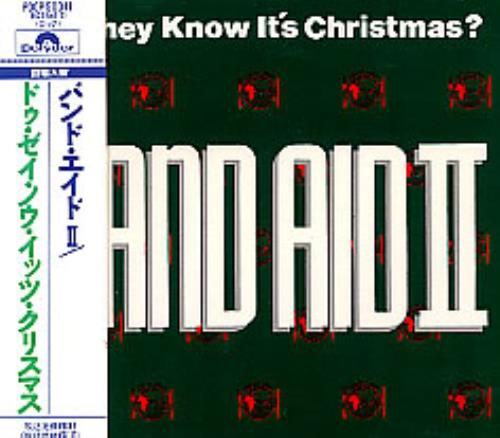"""Band Aid Do They Know It's Christmas? CD single (CD5 / 5"""") Japanese AIDC5DO271229"""