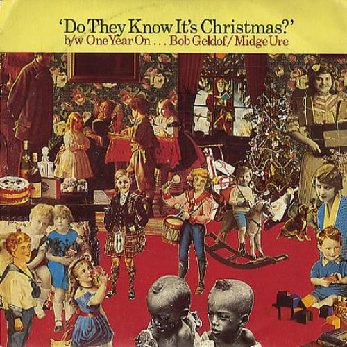 "Band Aid Do They Know It's Christmas? 7"" vinyl single (7 inch record) French AID07DO347700"