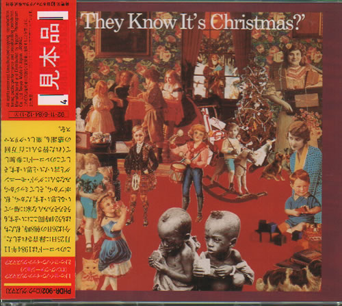 """Band Aid Do They Know It's Christmas? 3"""" CD single (CD3) Japanese AIDC3DO355928"""