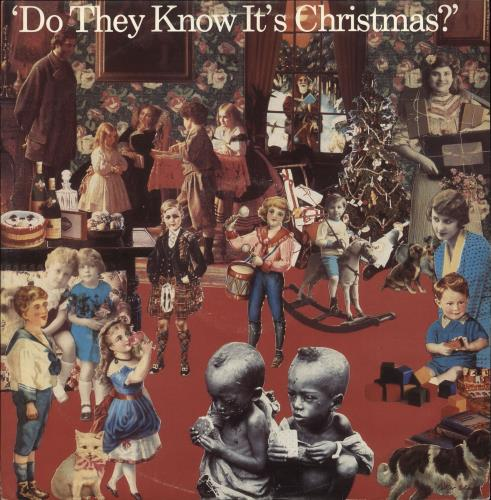 """Band Aid Do They Know It's Christmas? 12"""" vinyl single (12 inch record / Maxi-single) UK AID12DO48825"""