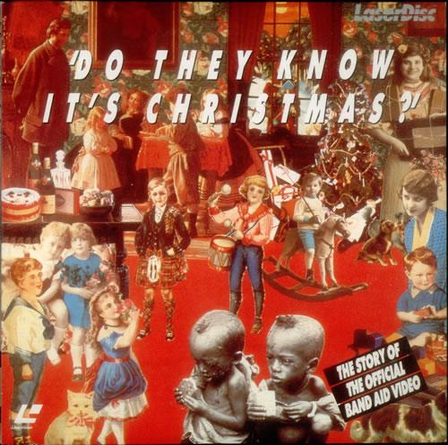 Band Aid Do They Know It's Christmas? laserdisc / lazerdisc Japanese AIDLZDO543467