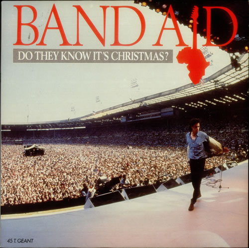 """Band Aid Do They Know It's Christmas? 12"""" vinyl single (12 inch record / Maxi-single) French AID12DO547971"""