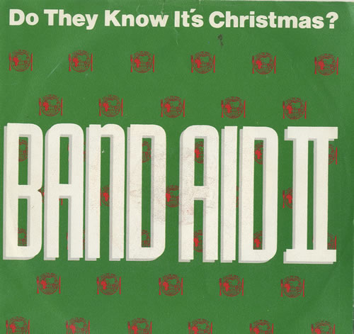 "Band Aid Do They Know It's Christmas? 7"" vinyl single (7 inch record) Dutch AID07DO572226"