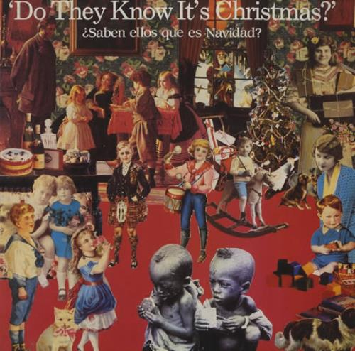 "Band Aid Do They Know It's Christmas ? 12"" vinyl single (12 inch record / Maxi-single) Spanish AID12DO388260"