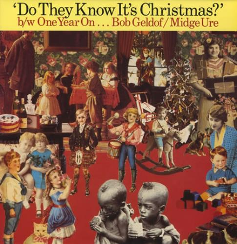 "Band Aid Do They Know It's Christmas  - One Year On 12"" vinyl single (12 inch record / Maxi-single) UK AID12DO55926"