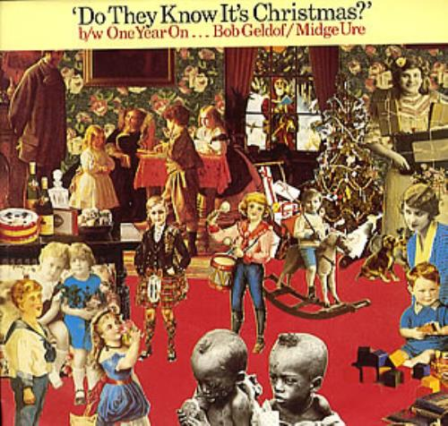 "Band Aid Do They Know It's Christmas - 1985 7"" vinyl single (7 inch record) UK AID07DO205553"