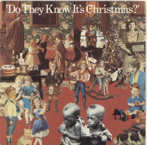 "Band Aid Do They Know It's Christmas - 2nd - Solid 7"" vinyl single (7 inch record) UK AID07DO723229"