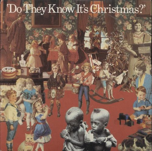 "Band Aid Do They Know It's Christmas - 2nd 7"" vinyl single (7 inch record) UK AID07DO47100"