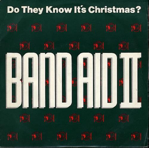 "Band Aid Do They Know It's Christmas - Band Aid II 7"" vinyl single (7 inch record) UK AID07DO44851"