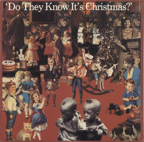 """Band Aid Do They Know It's Christmas - Sealed 12"""" vinyl single (12 inch record / Maxi-single) US AID12DO81724"""
