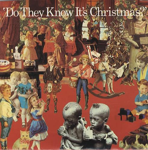 """Band Aid Do They Know It's Christmas 7"""" vinyl single (7 inch record) US AID07DO103381"""