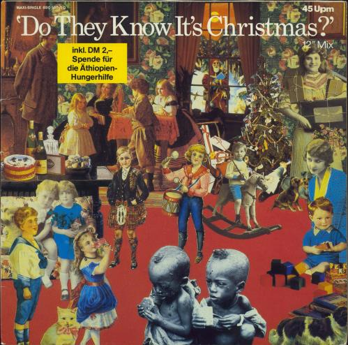 """Band Aid Do They Know It's Christmas 12"""" vinyl single (12 inch record / Maxi-single) German AID12DO112065"""