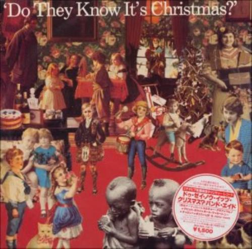 """Band Aid Do They Know It's Christmas 12"""" vinyl single (12 inch record / Maxi-single) Japanese AID12DO133835"""