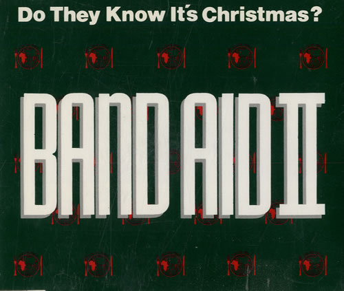 "Band Aid Do They Know It's Christmas CD single (CD5 / 5"") German AIDC5DO184999"