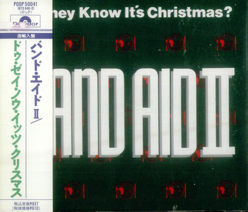 "Band Aid Do They Know It's Christmas CD single (CD5 / 5"") Japanese AIDC5DO189880"