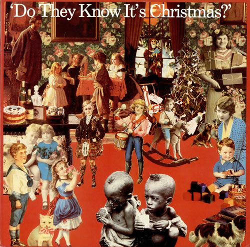 "Band Aid Do They Know It's Christmas 12"" vinyl single (12 inch record / Maxi-single) US AID12DO465126"