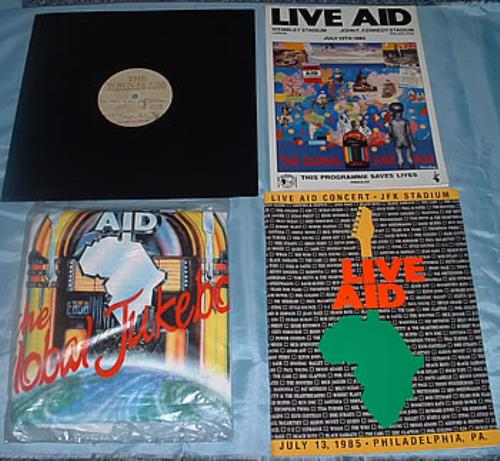 "Band Aid Do They Know It's Christmas/Live Aid 12"" vinyl single (12 inch record / Maxi-single) UK AID12DO311430"