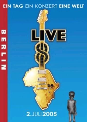 Band Aid Live 8 Berlin DVD UK AIDDDLI340266