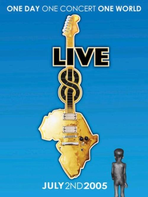 Band Aid Live 8 DVD UK AIDDDLI340263