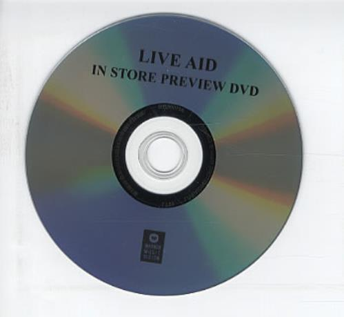 Band Aid Live Aid - In Store Preview DVD Canadian AIDDDLI319717