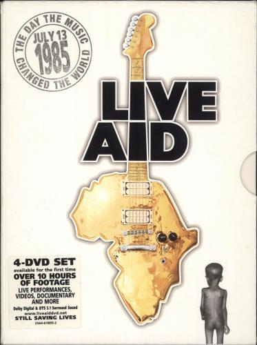 Band Aid Live Aid DVD UK AIDDDLI723550