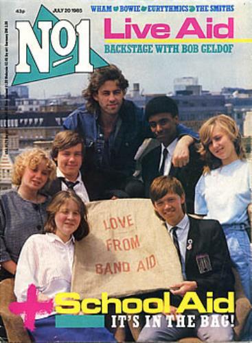 Band Aid No 1 magazine UK AIDMANO302100