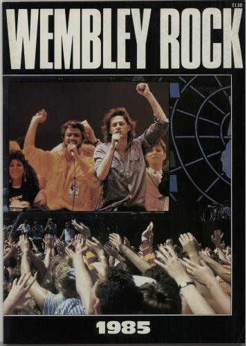 Band Aid Wembley Rock magazine UK AIDMAWE302009